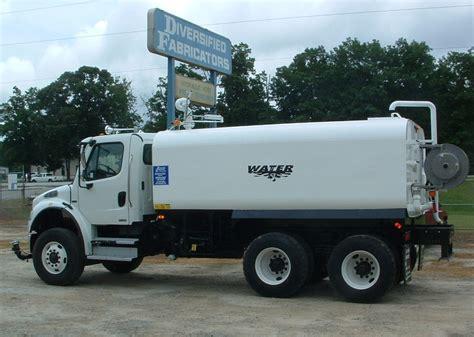 Mainan Truck Container Aquarium diversified fabricators inc water trucks and tanks