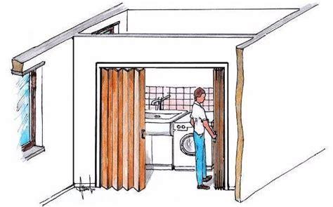 come montare una porta a soffietto in plastica porta a soffietto per piccoli spazi montaggio fai da te