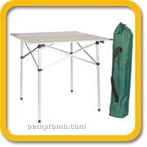 roll up table in a bag 4 person roll up aluminum table with carry bag china