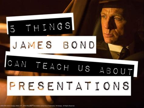 powerpoint templates james bond 5 things james bond can teach us about presentations