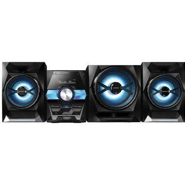 Shelf Top Stereo by Sony Lbt Gpx555 Lbt Shelf Top Audio System With Bluetooth