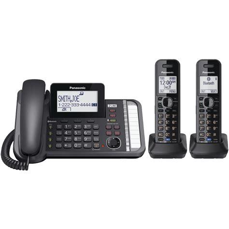 Telepone Wireless Cordless Panasonic Kx Tgc310 Speakerphone panasonic bluetooth dect 6 0 cordless wireless phone