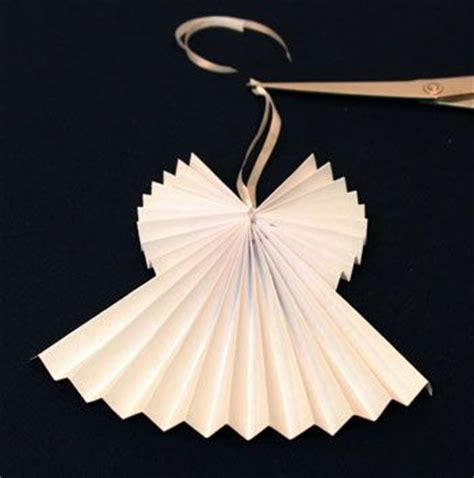 pattern paper angel easy angel crafts accordian folded paper angel ornament
