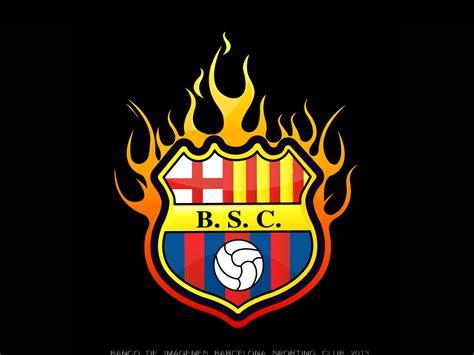 wallpaper del barcelona de ecuador escudo en llamas banco de imagenes de barcelona sporting