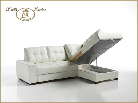 divano letto angolare contenitore divano letto angolare moderno in ecopelle angolo salotto