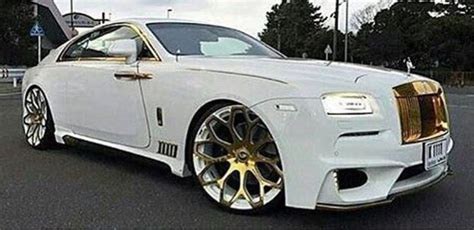 rolls royce gold rims white gold rolls royce cars motorcycles