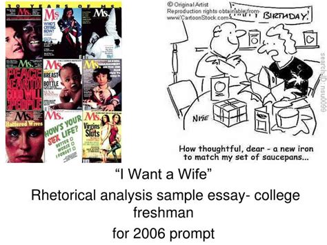 Judy Brady I Want A Essay by I Want A Essay Analysis For The Essay 39 Why I Want A 39 Seminar Presentation