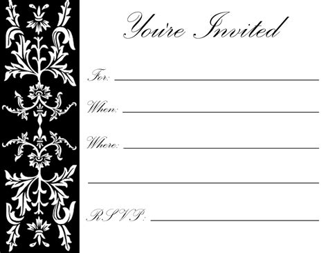 and black anniversary card templates free printable 70th birthday invitations best