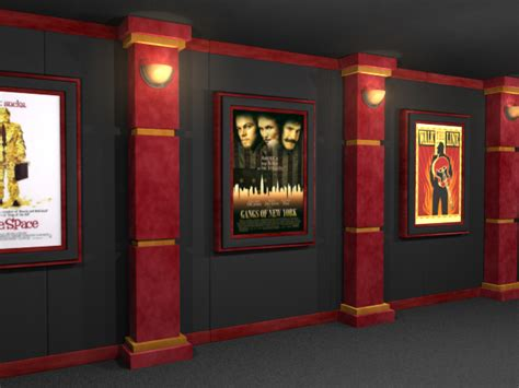 home columns image gallery home theater columns