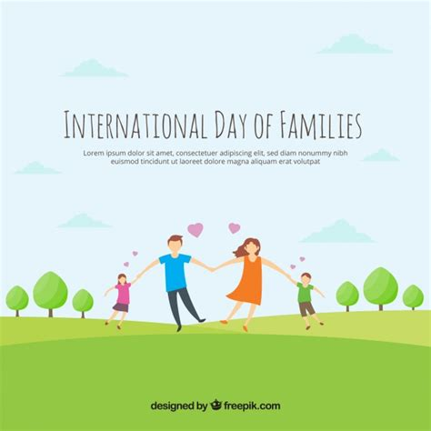 family background loving family background in the field vector free