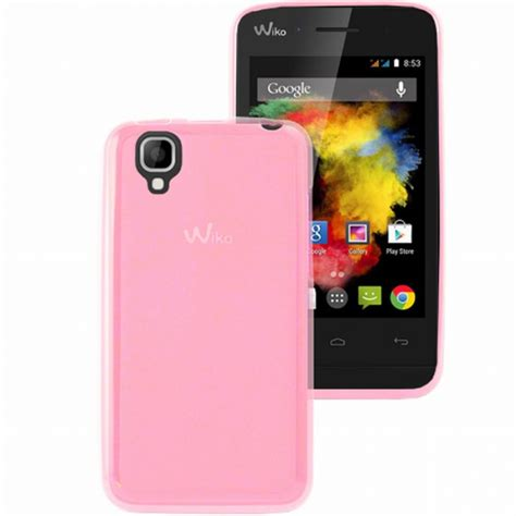 themes mobile wiko mocca mocca coque gel rose pour wiko goa