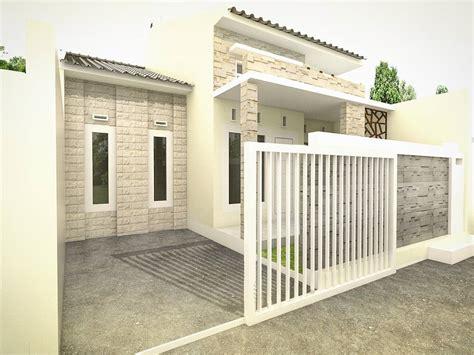membuat gate rumah pagar rumah minimalis type 36 sumber pinterest com