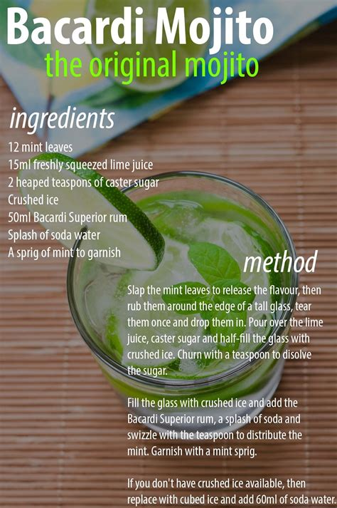 mojito recipe the of mojito cocktail travel away