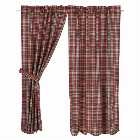 curtains plaid graham plaid curtains pair www bestwindowtreatments com