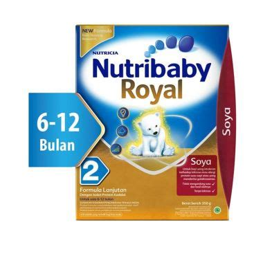 Nutribaby Royal Soya 2 jual formula bayi harga menarik blibli