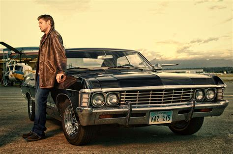 the impala dean winchester with chevrolet impala 1967 supernatural