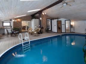 pool room with heated indoor sauna and steam homedesign privacy luxury from swimming