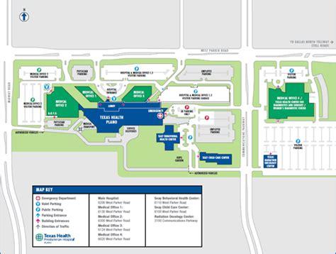 texas childrens hospital map texas health plano 6200 west road plano texas tx 75093