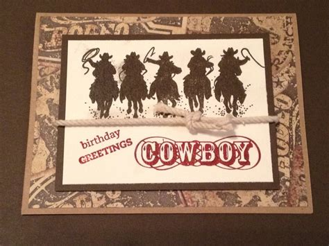 toughest cowboy in a western happy 134 best images about cards birthday western on