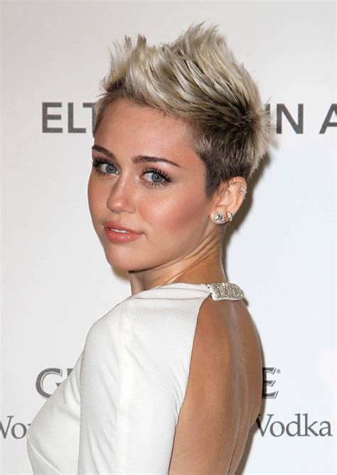 hairstyles no work short haircut by miley cyrus talk hairstyles