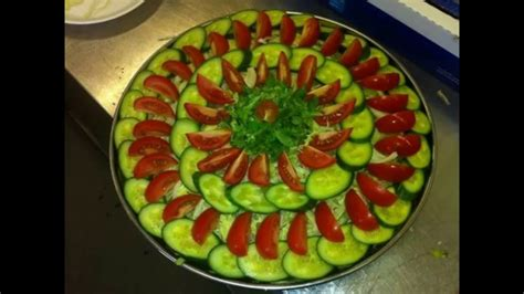 Salad Decoration At Home Salad Decoration With Vegetables Amazing Salad Design Pattern