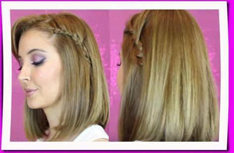 Foto De Peinado Con Pelo Mediano | peinados con trenzas para cabello mediano y corto estilos