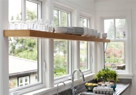 kitchen window shelf ideas kitchen window shelves decor ideasdecor ideas