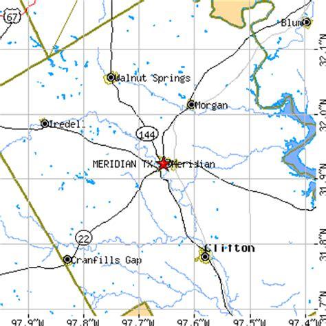 meridian texas map meridian texas tx population data races housing economy