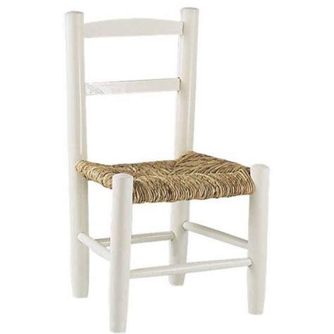 Incroyable Chaise Cuisine Bois Paille #1: chaise-enfant-paille-bois-laqu%C3%A9-blanc.jpg