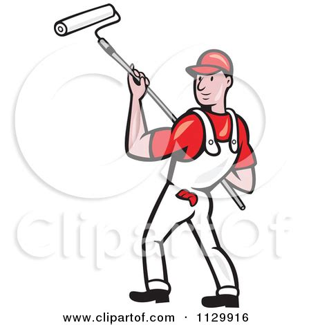 house painter clipart retro house painter worker clipart panda free clipart images