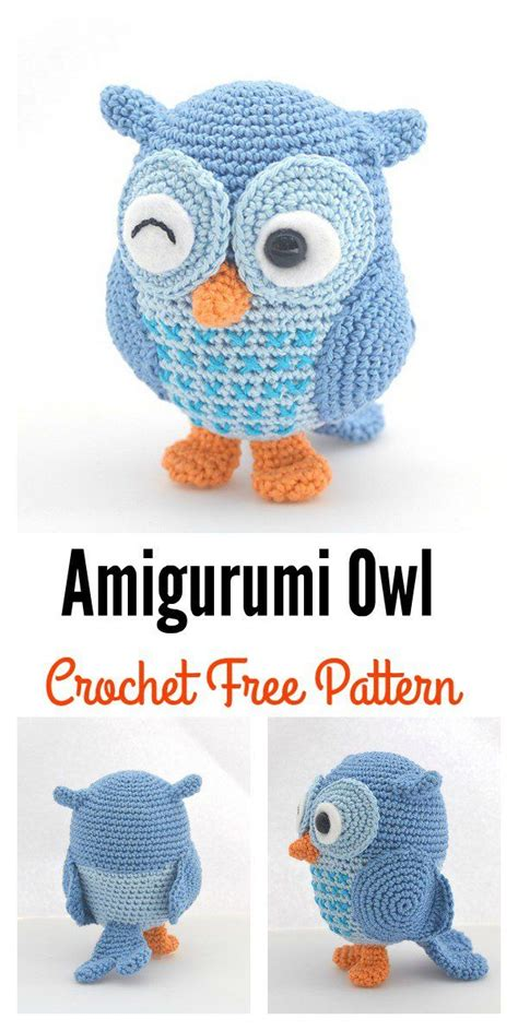amigurumi pattern free owl 5136 best crocheted toys amigurumi images on pinterest