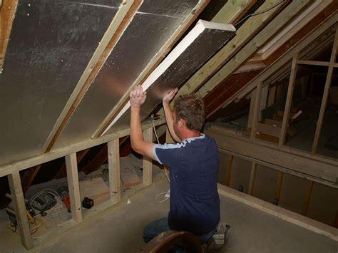 loft insulation attic room rafters insulated in a loft conversion loft conversions