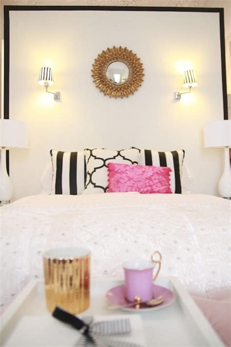 black white and gold bedroom ideas black and white headboard contemporary bedroom ana