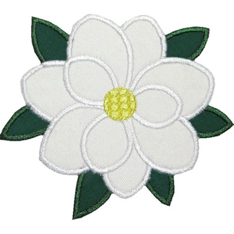 magnolia flower template magnolia flower applique design