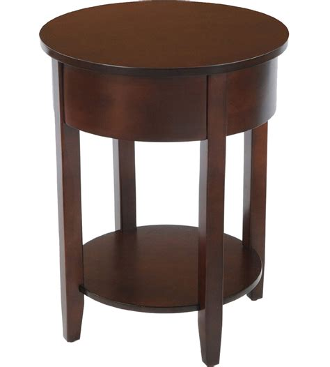 round accent tables bay shore round accent table in nightstands