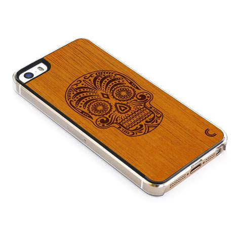 Garskin Iphone 5s Sugar Skull by Iphone 5 5s Sugar Skull Craftedcover