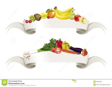 Vegetables Fruits Banner Royalty Free Stock Image   Image