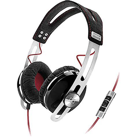 sennheiser momentum on ear headphones black 505795 b h photo