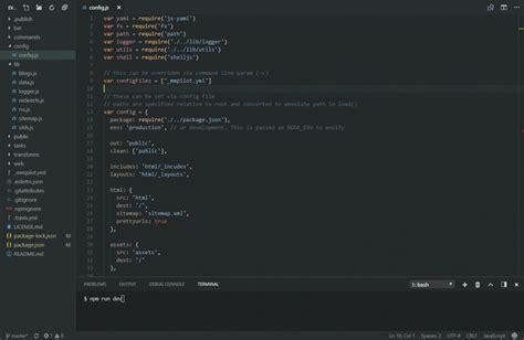themes vscode 10 best visual studio code dark themes super dev resources