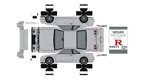 Hp Papercraft - 布沢アルペジオペーパークラフト館 日産車