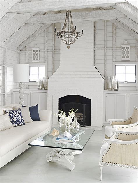 home decor white brick fireplace better homes and gardens style spotters decorating