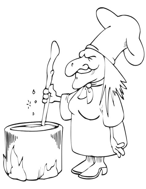 witch cauldron coloring page free coloring pages of halloween cauldron