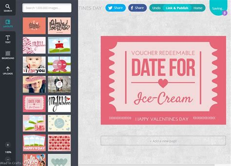 Last Minute Valentine Coupons With Canva Mad In Crafts Canva Website Template