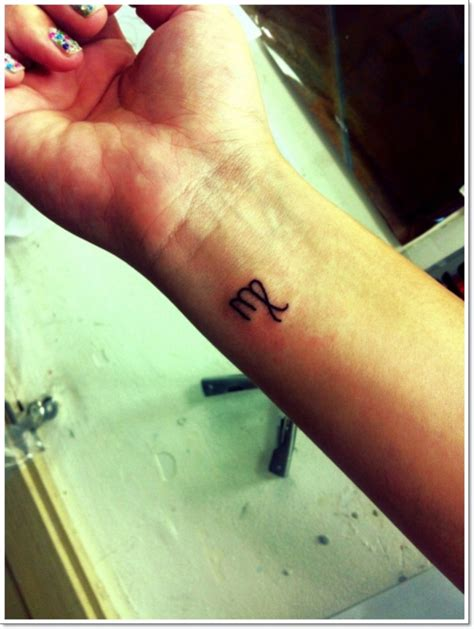 small sign tattoos 21 impressive virgo wrist tattoos