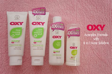 Oxyglow Basic Acne Series Regular oxy acne moisturizer 45g update daftar harga