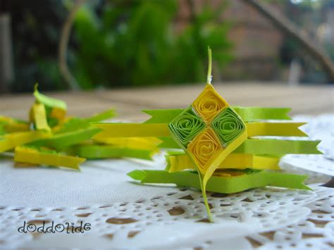 tutorial origami ketupat 1000 images about iedul on pinterest handmade greetings