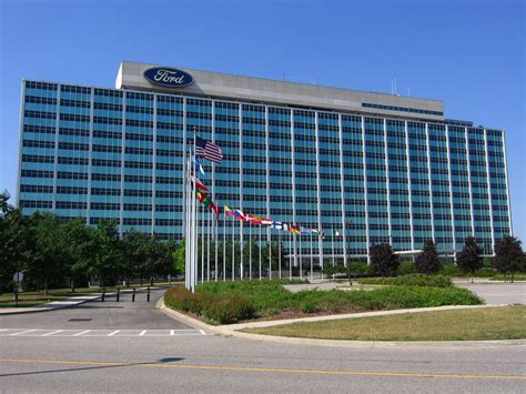 ford headquarters inside ford motor company world headquarters after taking some