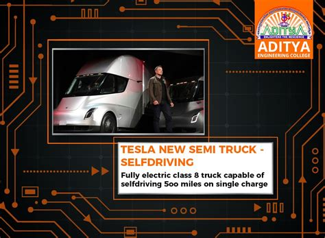 most comfortable semi truck tesla new semi truck self driving aditya engineering