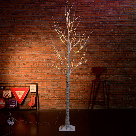 7ft tree with lights 7ft 120led birch twig tree light for wedding