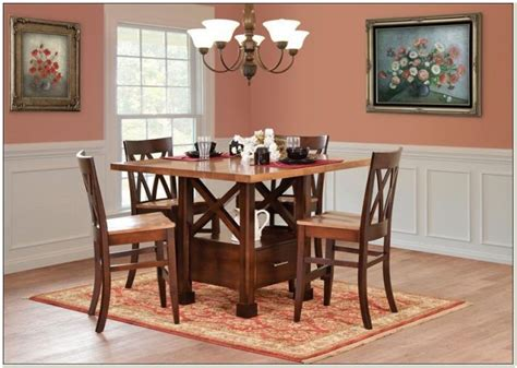 amish pub table and chairs amish patio furniture mn patios home decorating ideas